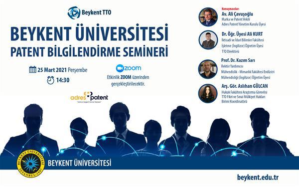 beykent-universitesi-patent-bilgilendirme-semineri