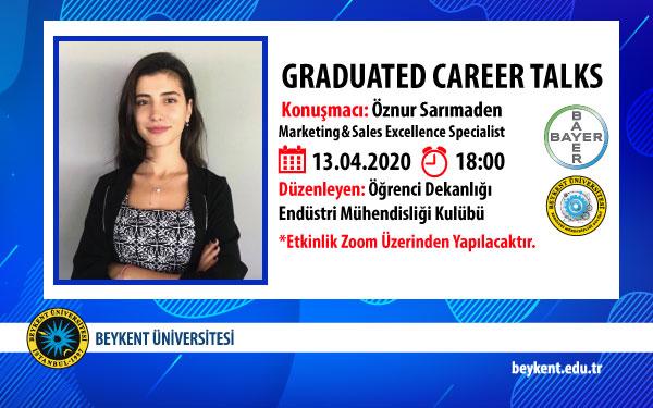 Graduated Career Talks