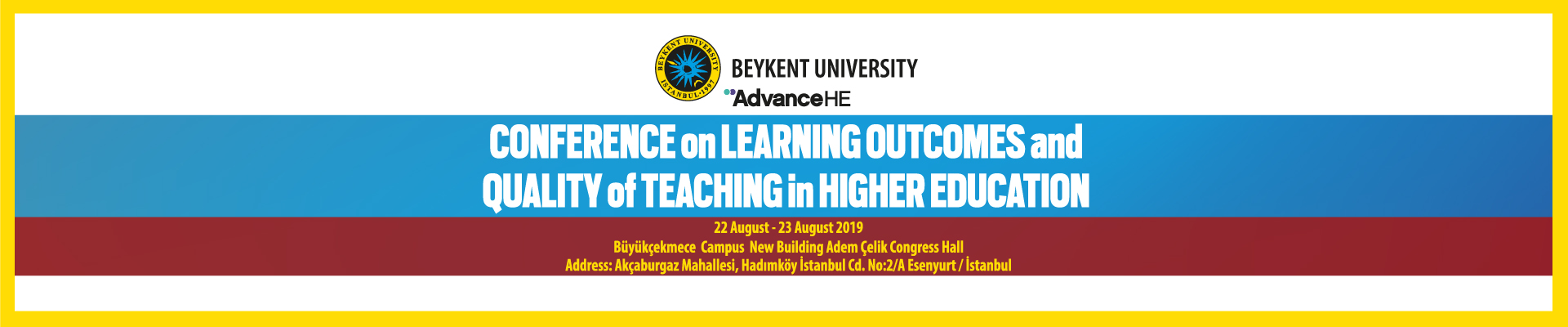 Conference on Learning Outcomes and Quality of Teaching in Higher Education
