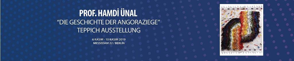 Prof. Hamdi Ünal'dan Berlin'de Türk Halı Kilim ve Dokuma Sergisi