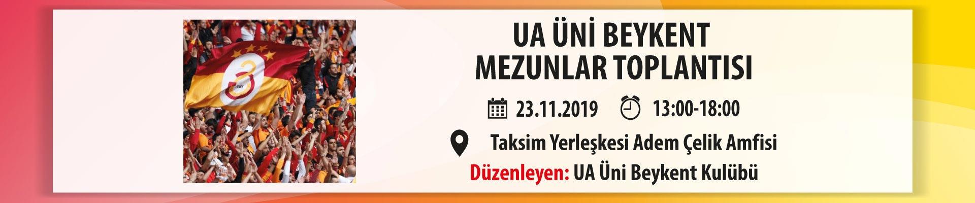 UA ÜNİ Beykent Mezunlar Toplantısı