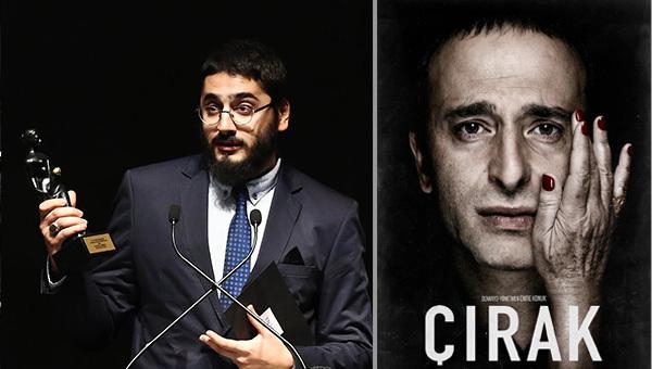 """Üniversitemiz Sinema-TV Anasanat Dalı Öğrencisi Emre Konuk, Antalya Film Festivali Uluslararası Yarışmasında """"En İyi İlk Film"""" Ödülünü Kazandı."""
