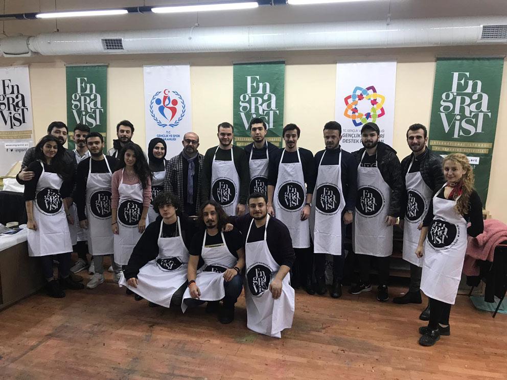 Üniversitemiz Güzel Sanatlar Fakültesinden 37 Öğrenci Türkiye'nin En Kapsamlı Uluslararası Baskıresim Sergisine Davet Edildi. 2