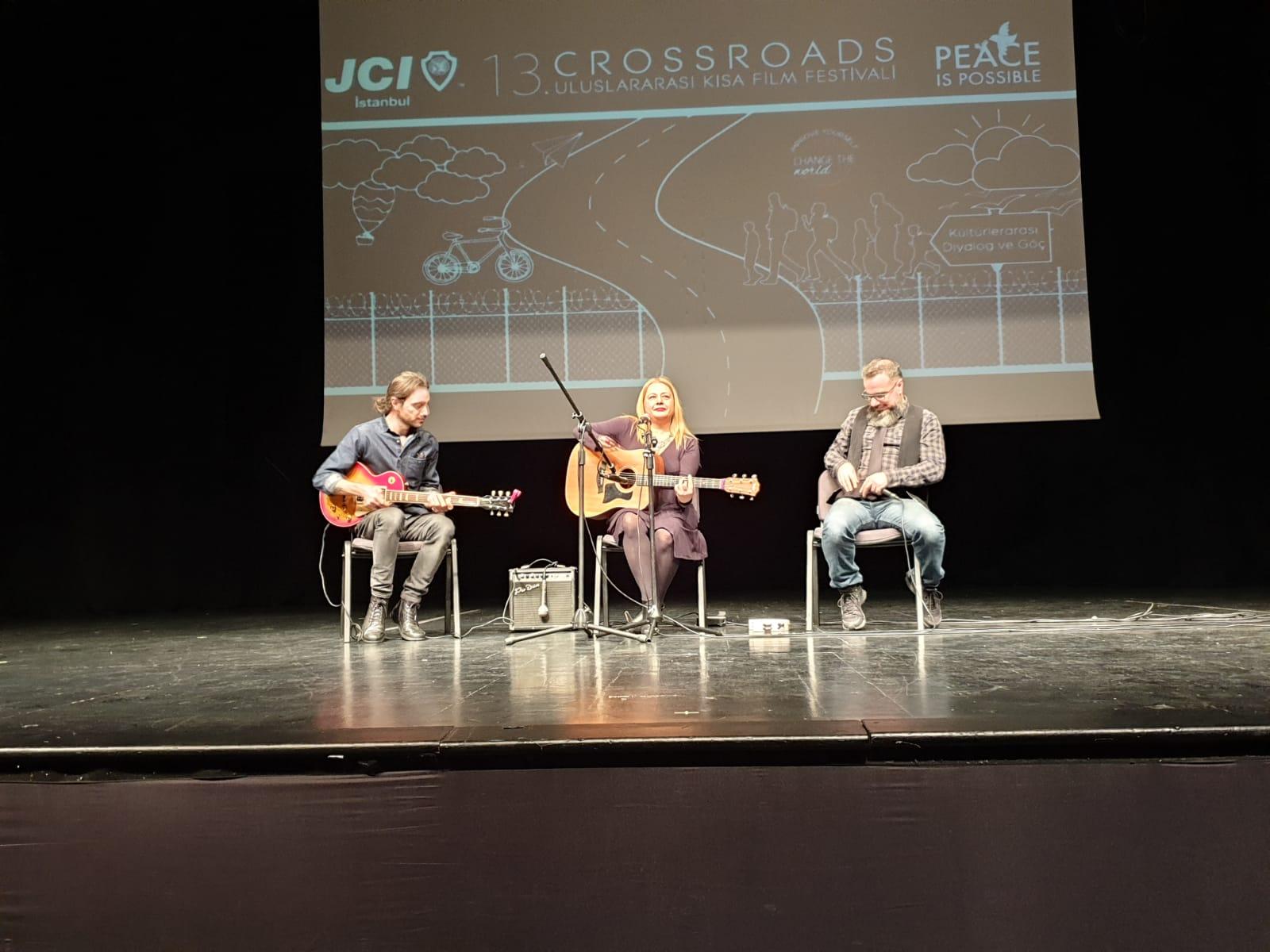 13. JCI İstanbul Crossroads Uluslararası Kısa Film Festivali Caddebostan Kültür Merkezinde Gerçekleştirildi 2