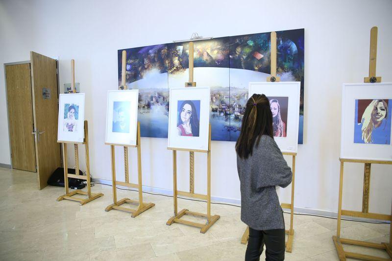 Sanata Spiral Yolculuk Sergisi Gerçekleştirildi