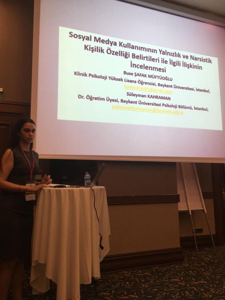 Klinik Psikoloji Yüksek Lisans Öğrencilerimiz Uluslararası Kongrelerde Araştırma Projelerini Sundular 3