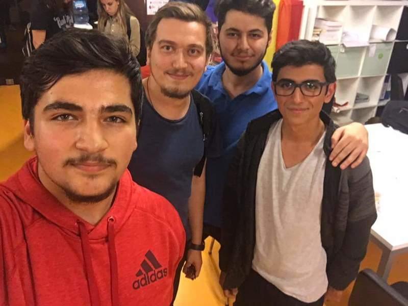 Mühendislik-Mimarlık Fakültesi Yazılım Mühendisliği Bölümü 4. Sınıf Öğrencisi Sefa Said Deniz'in Başarısı
