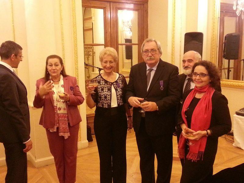Prof. Dr. Ali Vahit Turhan Fransız Hükümeti Tarafından Chevalier Des Palmes Académiques İle Onurlandırıldı