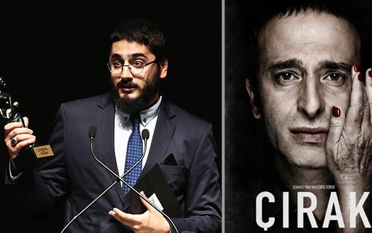 """Üniversitemiz Sinema-TV Anasanat Dalı Öğrencisi Emre Konuk, Antalya Film Festivali Uluslararası Yarışmasında """"En İyi İlk Film"""" Ödülünü Kazandı"""